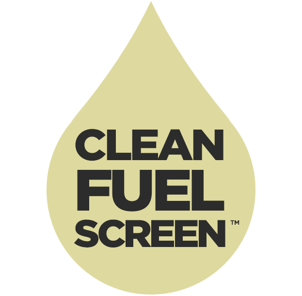 Clean Fuel Screen